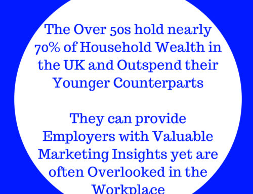Why business benefits by recruiting 'older' employees into marketing roles