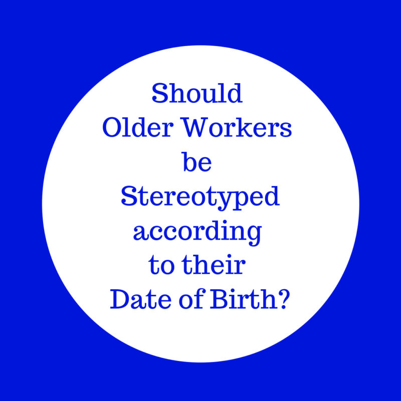 Why older workers should not be stereotyped image