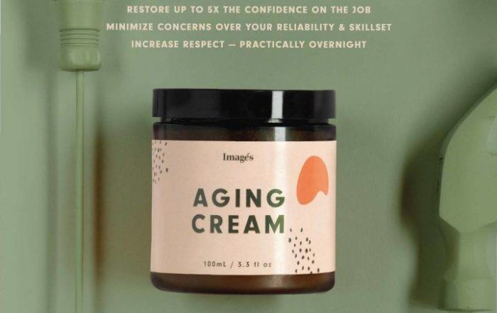 If anti-ageism cream existed what would it look like image